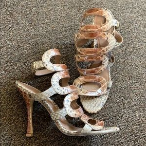 Sergio Rossi 🐍 Snakeskin Heels